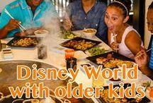 Older kids at Disney World