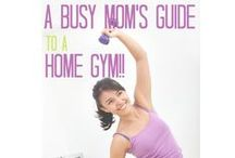 Fitness For The Busy Mom / Wondering how to stay fit with kids? Here are some great, quick, work outs! / by The Busy Mom
