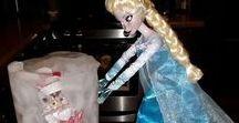 Elf on the Shelf Disney ideas / Elf on the Shelf with a Disney twist!