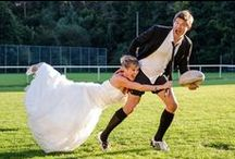 Rugby Themed Wedding's / Unique ideas for a rugby themed wedding!