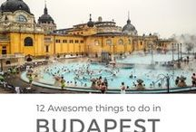 TRAVEL | Budapest, Hungary / What to do, see, eat and drink in Budapest, Hungary. Lots of budget-friendly advice and inspiring imagery!