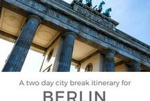 TRAVEL | Germany / The best things to do, see, eat and drink in Germany!