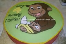 Curious George / Curious George party ideas. / by Melinda Gilbert