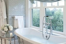 Bathroom Design Inspiration / Inspiration for creative, beautiful, functional or unexpected bathroom designs.