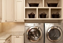 Laundry Room Design Inspiration / Inspiration for creative, beautiful, functional laundry rooms.