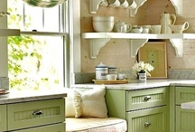 Kitchen Design Inspiration / Inspiration for kitchen designs, including anything interesting, cool, or just nice to look at.