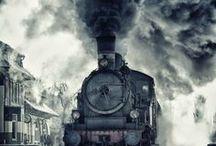 Trains / by Jesse Flowers