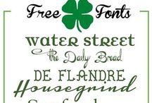 Font Frenzy / Fonts / by Melinda Gilbert