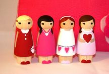 Clothes Pin Dolls / by Aimee Payne