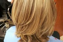 Hollywood Blonde 'Before & After' Hairstyles & Styles