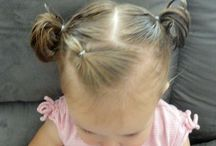 Toddler Hairstyles / by Emily Greenaway