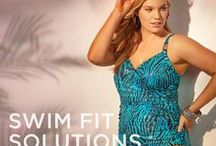 Swimwear 2015 / Make a splash in plus size swimwear with Tummy control, Bust Enhancers & Hip & Thigh Conceals.