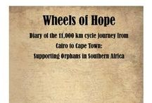 Shayne completes 11,000 km cycle from Cairo to Cape Town for orphans. / Shayne Rookhuyzen cycled 11,000 km to raise €29,000 for orphans in Southern Africa.