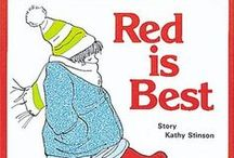 Red is Best Activities / Lessons and Learning Activities for the Book RED IS BEST by Kathy Stinson