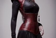 Luscious Leather / Durable, delightful, dangerous looking leather... good for so much more than just shoes and boots.