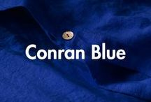 The Conran Shop Blue Collection / Inspired by our very own Conran Blue, this collection will turn formerly blue Mondays at home into cobalt dreams. Loved by our founder Sir Terence Conran, accent your space with The Conran Shop's signature colour that never goes out of style. Conran Blue takes centre stage in this selection of exclusive designs and collaborations, from the Type 75 Anglepoise lamp, to plant pots and linen pillowcases.