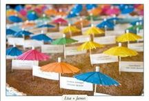 """Table Card & Escort Card Ideas / Write Away For You can """"lend you a hand"""" putting names onto your table cards, escort cards & place cards. writeawayforyou.com"""