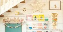 Kid Spaces: Play + Learn / Rooms, decor, and outdoor spaces for playtime and learning.