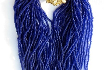 Study in blue accesories