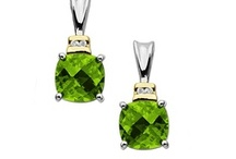 Peridot Jewelry / A collection of August Birthstone Jewelry  / by Jewelry. Com