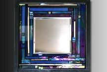 Mirrors... mirrored furniture  ... mercury glass