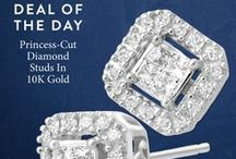 Jewelry Deal of the Day / Every day, for 24 hours only, we offer an amazing jewelry value. Hurry, the clock is ticking... / by Jewelry.com
