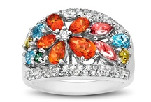 Rainbow Topaz Natural Gemstone Jewelry