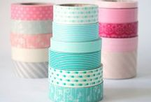 Washi Tape / Washi tape and what do do with it