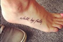 tattoos  / by Hallie Huffman