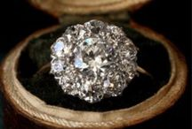 Antique Style Diamonds  / Wedding jewelry ~ antique ~ engagement rings / by Tammy LaVonne Giesbrecht