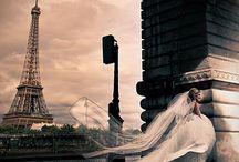 A Paris Wedding / Paris inspired wedding theme / by Tammy LaVonne Giesbrecht