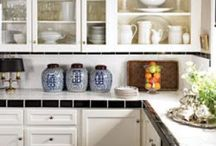 Above cupboards / One of the hardest areas to decorate is above the kitchen cupboards.  Ideas to start with! / by Vickie