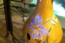 Oh my gourd / Artst creations using gourds