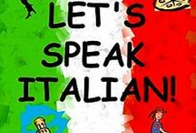 Learning Italian / My Grandparents wanted us all to be American, so there was no concerted effort in our house to teach everyone to speak Italian.  It's the stuff of my fondest dreams to be able to understand more of this beautiful language.  / by Carolyn Mariano