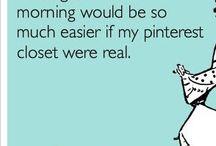 Pinterest Closet