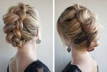 Pioneer Hair / ideas for how to style hair for work!