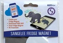 WAGGGS SANGAM WORLD CENTRE / Technology Enhanced DIY Fridge Magnet Kits. Download the FREE APP on your smart device, scan your completed fridge magnet and watch for awesome augmented reality and fun animations on your device screen and hear cool sound effects!