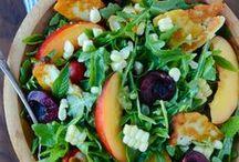 Celebrate Salads! / Celebrate salads of every shape and size!