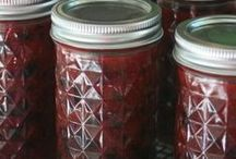 Celebrate Jams and Jellies / My favorite things to can are jams and jellies!  These recipes are the best of the best!