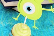 Monster Party Ideas // Michelle's Party Plan-It / Monster Birthday Party Ideas inspired by Monsters Inc and Monsters University