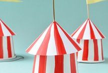 Carnival and Circus Party Ideas // Michelle's Party Plan-It / Party ideas and inspiration for a Carnival and Circus Party!
