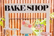 Baking Party Ideas // Michelle's Party Plan-It / Having a Baking Party? Baking party ideas and inspiration for your next party!
