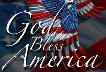 God Bless America!!! / by Vickie Padgett