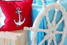 Nautical Party Ideas // Michelle's Party Plan-It / Nautical Party Ideas and inspiration. Sailing Party, Anchor Party, Nautical Decor, Nautical crafts and more!
