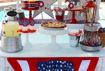 4th of July Ideas // Michelle's Party Plan-It / Recipes and party ideas for 4th of July celebrations