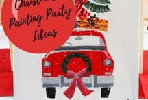 Christmas Party Ideas // Michelle's Party Plan-It / Christmas party ideas and inspiration