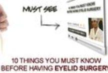 Cosmetic eyelid surgery videos