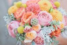 Flowers / Geen idee waar je voor kunt kiezen qua boeket? Wij hebben een selectie gemaakt met de mooiste trouwboeketten, bloemen voor in je haar en andere bloemdecoratie.