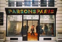 Parsons Paris / Parsons Paris offers the innovative educational methodology of Parsons The New School for Design with the unique resources of a European art and design capital. Welcome to the city of unparalleled inspiration. / by The New School