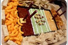 Football Fun / Recipes and ideas for the big football game (Super Bowl). / by Laughing Lindsay